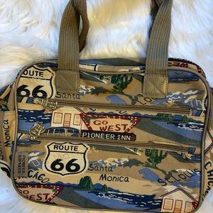 Route 66 Bags - Route 66 vintage Pioneer Express Roadtrip bag